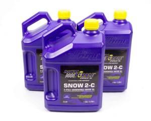 ROYAL PURPLE #43511 Snowmobile 2 Cycle Oil Case 3x1 Gallon