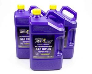 ROYAL PURPLE #53020 0w20 Multi-Grade SAE Oil 3x5qt Bottles