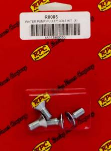 RACING POWER CO-PACKAGED #R0005 Bolt Kit For SBC/BBC Alum LWP Pulley 4pk