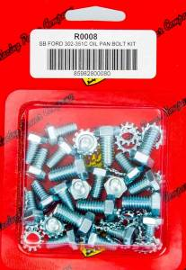 RACING POWER CO-PACKAGED #R0008 SBF Oil Pan Bolt Kit