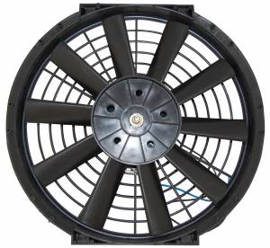 RACING POWER CO-PACKAGED #R1200 10In Electric Fan Straight Blade