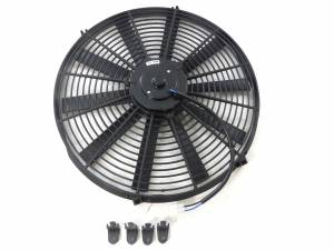 RACING POWER CO-PACKAGED #R1206 16In Electric Fan Straight Blade