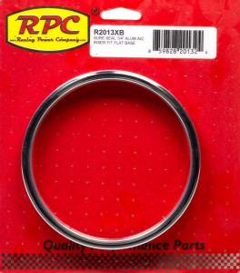 RACING POWER CO-PACKAGED #R2013XB Sure Seal 1/4In Alum A/C Riser Fit Flat Base