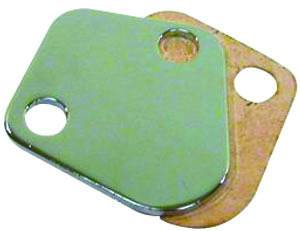 RACING POWER CO-PACKAGED #R2058 BBC Fuel Pump Block-Off Plate