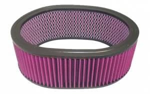 RACING POWER CO-PACKAGED #R2126 12In X 4In Oval Washable Element