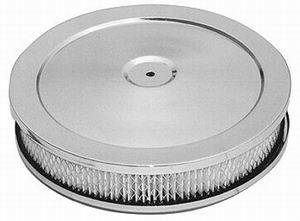 RACING POWER CO-PACKAGED #R2282 10In X 2In Air Cleaner Kit Paper Element
