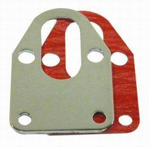 RACING POWER CO-PACKAGED #R2310 SB Chevy Fuel Pump Mounting Plate