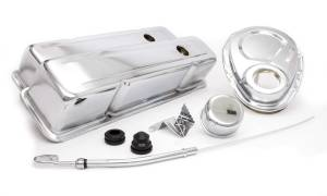 RACING POWER CO-PACKAGED #R3024 SBC Engine Dress Up Kit w/Tall Valve Covers