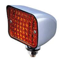 RACING POWER CO-PACKAGED #R31-583 Amber Turn Signal Light Universal