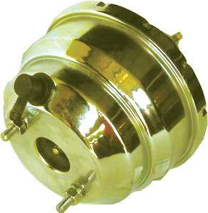 RACING POWER CO-PACKAGED #R3907X Yellow Zinc Power Brake Booster -7In