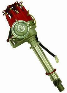 RACING POWER CO-PACKAGED #R3924 SB/BB Chevy Small Cap Distributor - Red