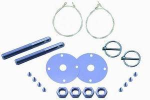 RACING POWER CO-PACKAGED #R4095 Flip-Over Hood Set With Lanyard Kit