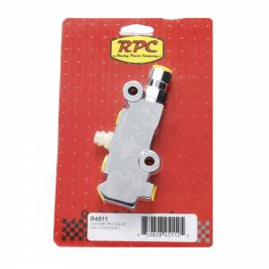 RACING POWER CO-PACKAGED #R4511 Chrome Prop Valve Only (Disc/Disc)