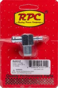 RACING POWER CO-PACKAGED #R4531Z Steel T Fitting 3/8In NPT 3/8In & 1/4In Barbs