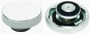 RACING POWER CO-PACKAGED #R5011 Chrome Aluminum Radiator Cap Plain