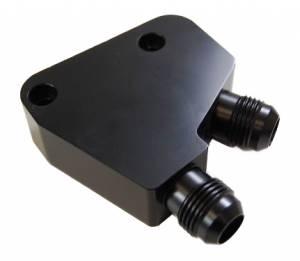RACING POWER CO-PACKAGED #R5301 Oil Cooler Adapter GM LS Gen III & Gen IV