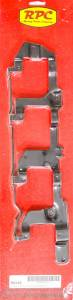 RACING POWER CO-PACKAGED #R6143 LS Coil Mounting Bracket Pair Black Steel