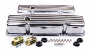 RACING POWER CO-PACKAGED #R6181 SBC Alum Finned Tall V/C Polished