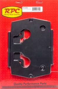 RACING POWER CO-PACKAGED #R6326BK Optima Aluminum Smooth Battery Tray Black