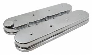 RACING POWER CO-PACKAGED #R6369 GM LS Cast Aluminum Valve Covers