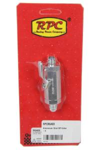 RACING POWER CO-PACKAGED #R6469 Aluminum Shut Off Valve -6