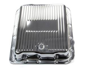 RACING POWER CO-PACKAGED #R7599 GM 700R4/4L60E Trans Pan Chrome Steel Finned