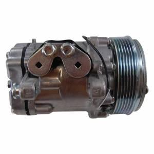 RACING POWER CO-PACKAGED #R8755 Sanden #7176 12V A/C Co mpressor Serpentine