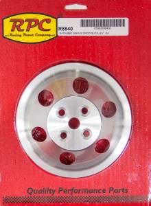 RACING POWER CO-PACKAGED #R8840 BBC SWP Single Groove Upper Pulley