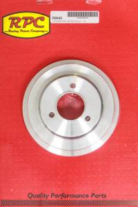 RACING POWER CO-PACKAGED #R8845 BBC 3 Goove Crank Pulley Long W/P Satin