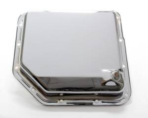 RACING POWER CO-PACKAGED #R9074 TH350 Trans Pan Chrome Steel Plain