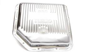 RACING POWER CO-PACKAGED #R9122 TH350 Trans Pan Chrome Steel Finned