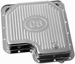 RACING POWER CO-PACKAGED #R9125 Ford C-6 Trans Pan – Finned
