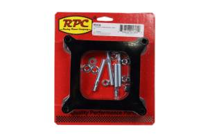 RACING POWER CO-PACKAGED #R9136 1In Phenolic Carb Spacer - Open