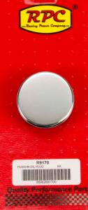 RACING POWER CO-PACKAGED #R9170 Push In Oil Cap Plain Fits 1 1/4in Hold