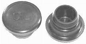 RACING POWER CO-PACKAGED #R9373 Push In Rubber Oil Plug W/Oil Logo