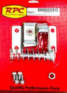 RACING POWER CO-PACKAGED #R9473 Chrome Steel Hood Latch