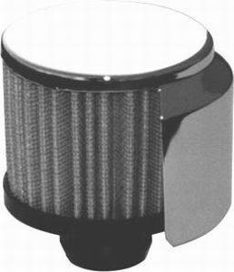 RACING POWER CO-PACKAGED #R9516 Push-In Filter Breather W/Shield