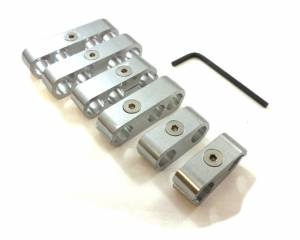 RACING POWER CO-PACKAGED #R9570 Billet Wire Separators Race Style - CNC