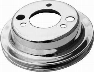 RACING POWER CO-PACKAGED #R9817 SB/BB Chevy Single Groov e Crankshaft Pulley LWP