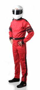 RACEQUIP SAFEQUIP #110017 Red Suit Single Layer XX-Large