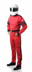 RACEQUIP SAFEQUIP #110018 Red Suit Single Layer XXX-Large
