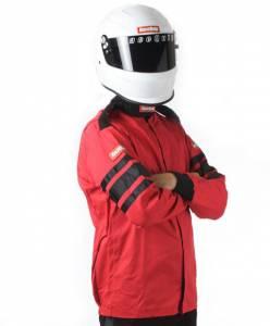 RACEQUIP SAFEQUIP #111013 Red Jacket Single Layer Medium