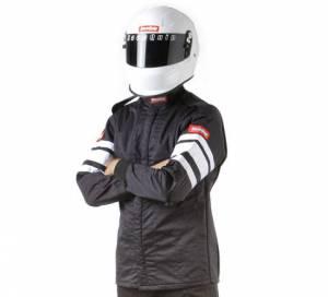RACEQUIP SAFEQUIP #121003 Black Jacket Multi Layer Medium