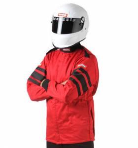 RACEQUIP SAFEQUIP #121013 Red Jacket Multi Layer Medium