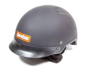 RACEQUIP SAFEQUIP #251996 Crew Helmet Flat Black X-Large