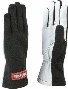 RACEQUIP SAFEQUIP #350005 Gloves Single Layer Large Black