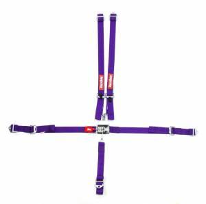 RACEQUIP SAFEQUIP #709059 5pt Harness Set Jr LL Purple