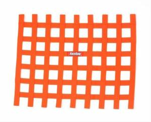 RACEQUIP SAFEQUIP #721045 Ribbon Window Net Orange Non-SFI 18in x 24in