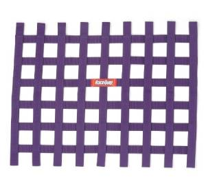 Ribbon Window Net Purple Non-SFI 18in x 24in