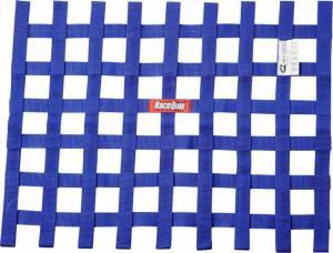 RACEQUIP SAFEQUIP #725025 Ribbon Window Net SFI Blue